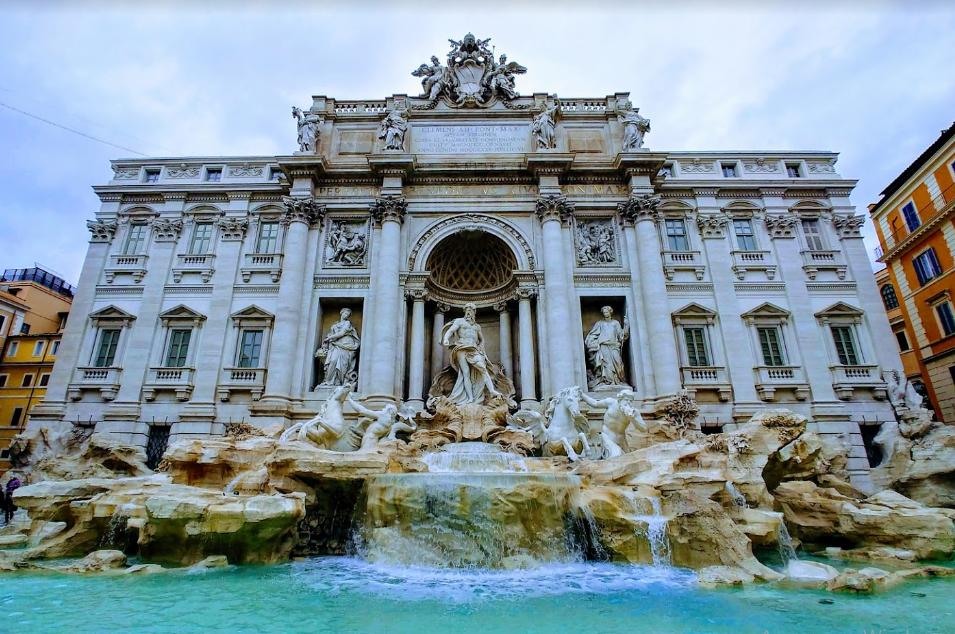 Фонтан Треви - достопримечательности Рима
