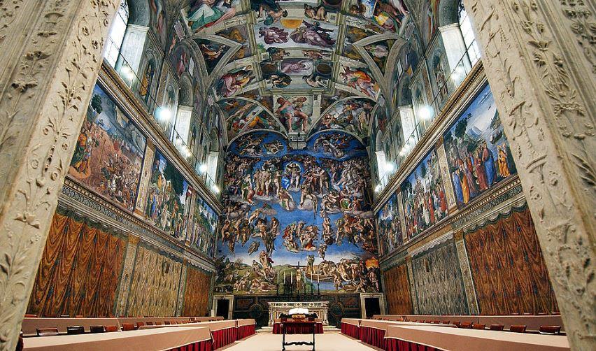 Фрески Сикстинской капеллы - достопримечательности Рима