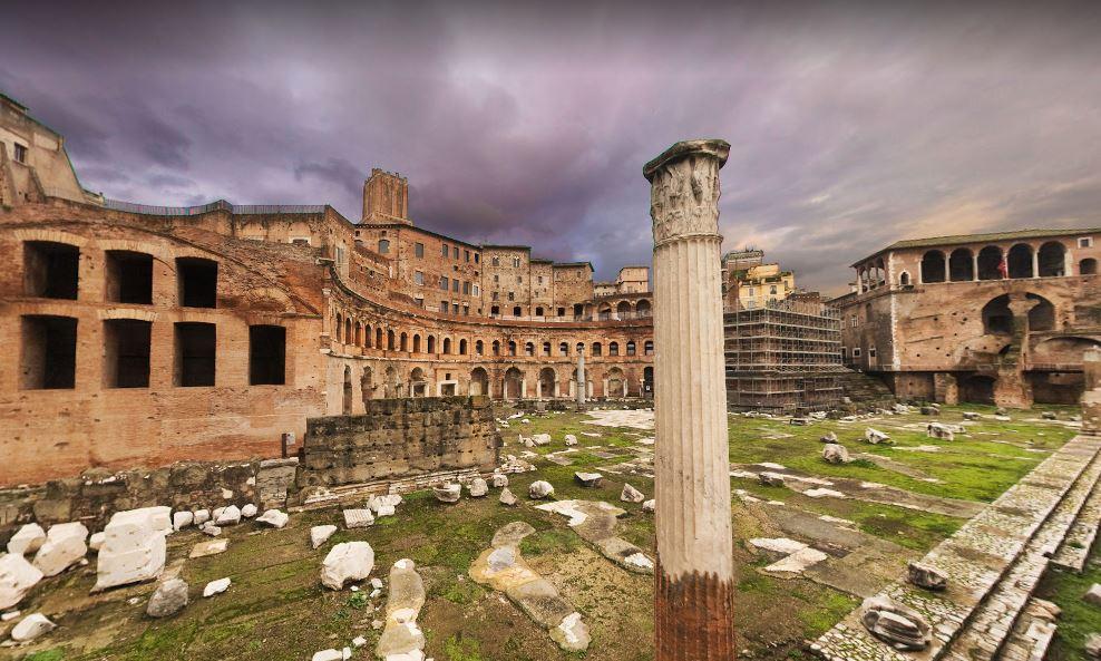 Имперские форумы - достопримечательности Рима
