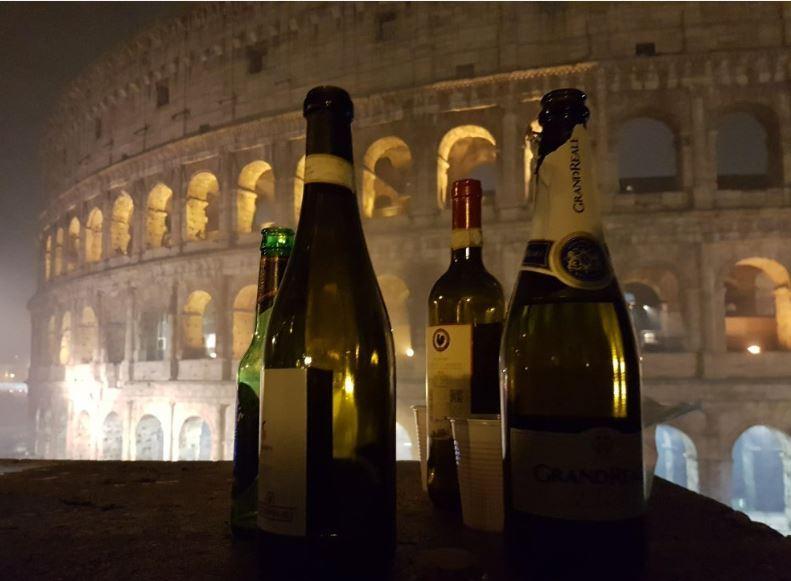 Новый год в Риме, Колизей