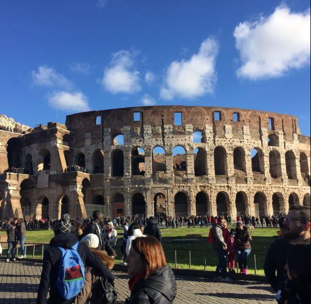 Очереди в Колизей в декабре - обычное дело