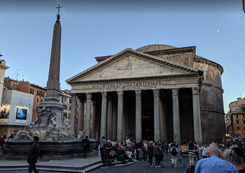 Районы Рима - Пантеон в районе Пинья