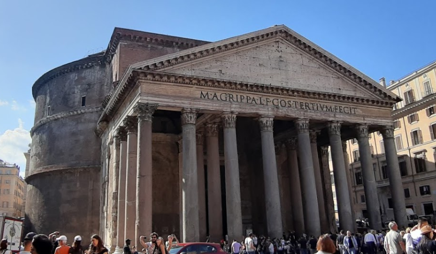 Пантеон - достопримечательности Рима