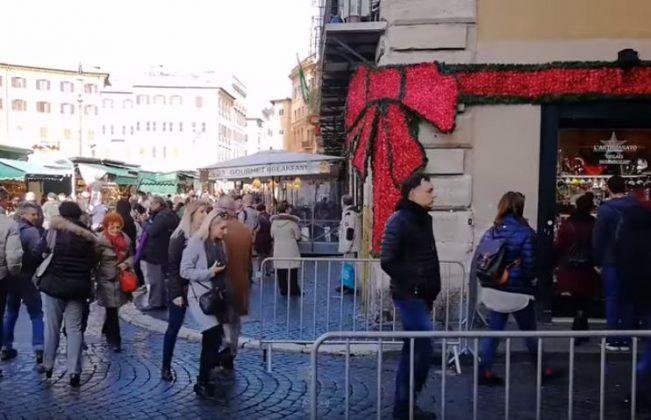 Рождественские ярмарки в Риме
