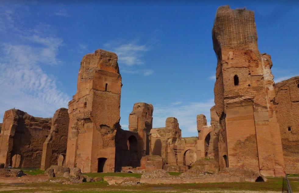 Термы Каракаллы - достопримечательность Рима