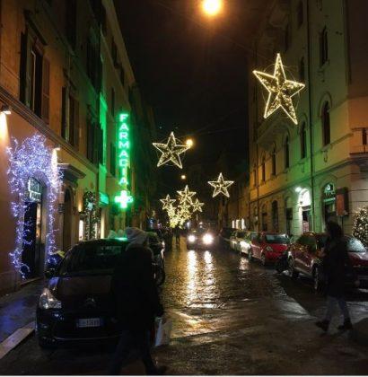 Улицы Рима декабрь