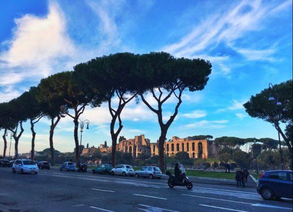 Рим в декабре - улицы