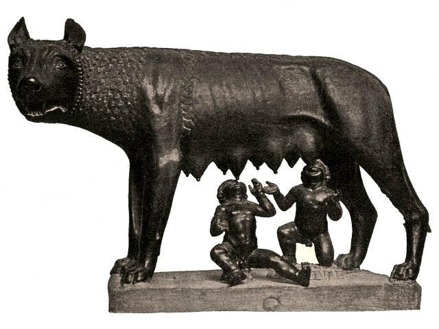 Волчица Ромула и Рема - интересные факты о Риме