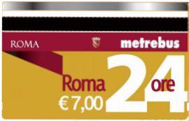 Безлимитный проездной билет на 1 день в Риме