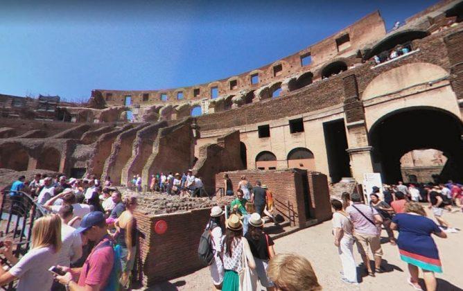 Что внутри Колизея