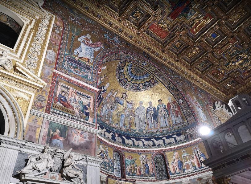 Церковь Санта Мария ин Трастевере - в маршруте экскурсии по нетуристическому Риму