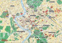 Карта Рима на русском языке СКАЧАТЬ