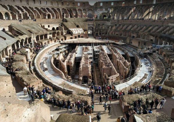 Арена Колизея в центре