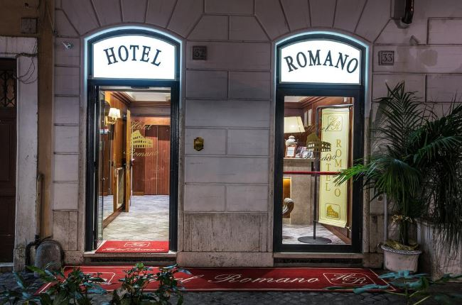 Отель Романо в Риме недорого