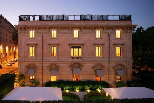 Отели в центре Рима 5 -  Villa Spalletti Trivelli