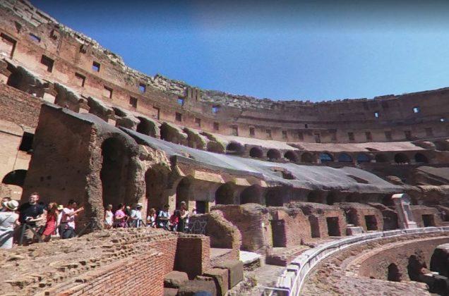 Внутри Колизей фото