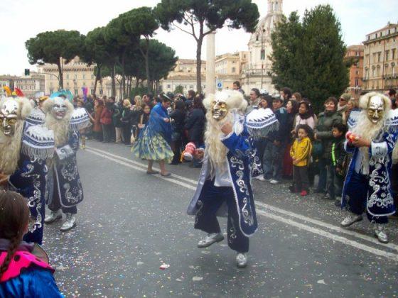Карнавальные шествия в Риме
