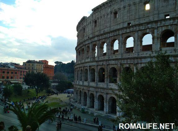 Отдых в Риме в феврале Колизей
