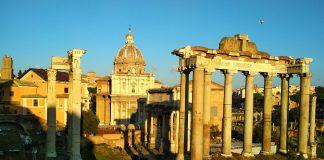 Рим в феврале