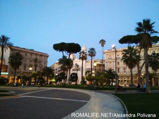 Погода в Риме в январе