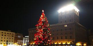 Новый год в Риме елка