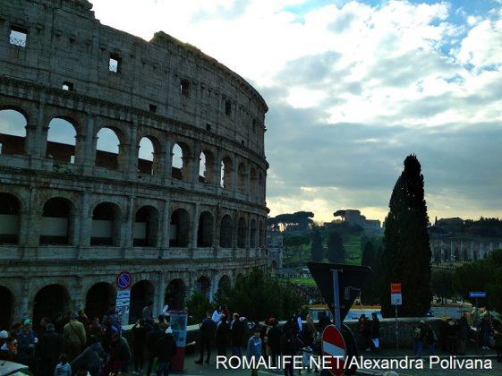Рим в январе фото Колизея