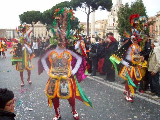 Римский карнавал в феврале