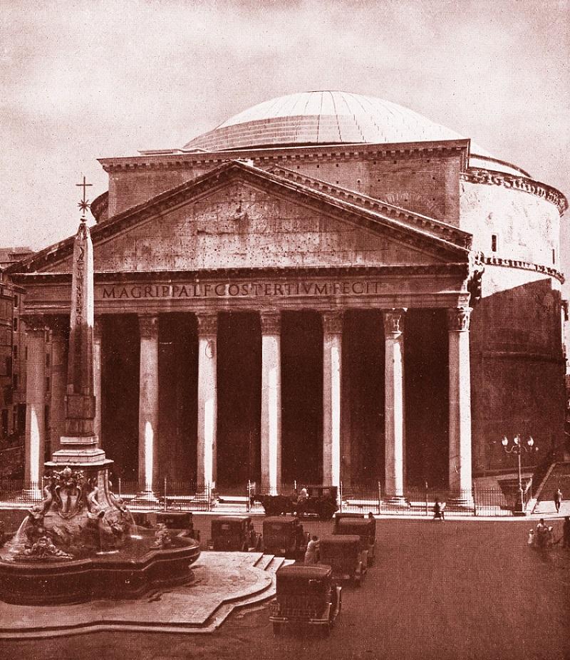 Старое фото Пантеона