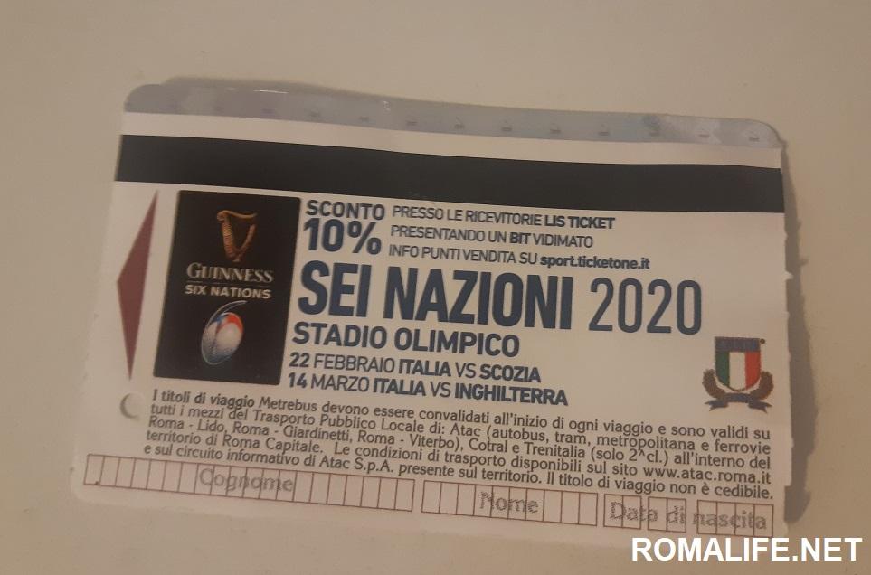 Билеты на метро в Риме