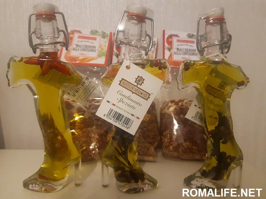 Что привезти из Рима какую еду