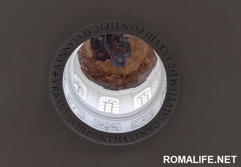 Купол храма Ромула на Римском форуме