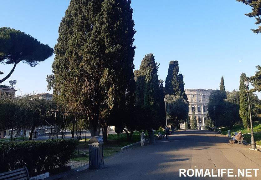 Рим весной Колизей