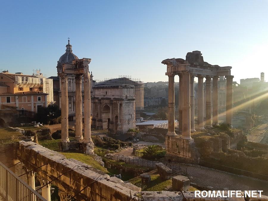 Рим весной: Римский форум