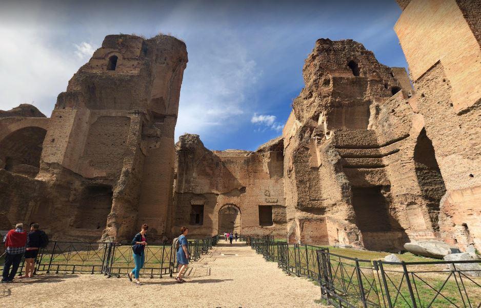 Римские бани Каракаллы
