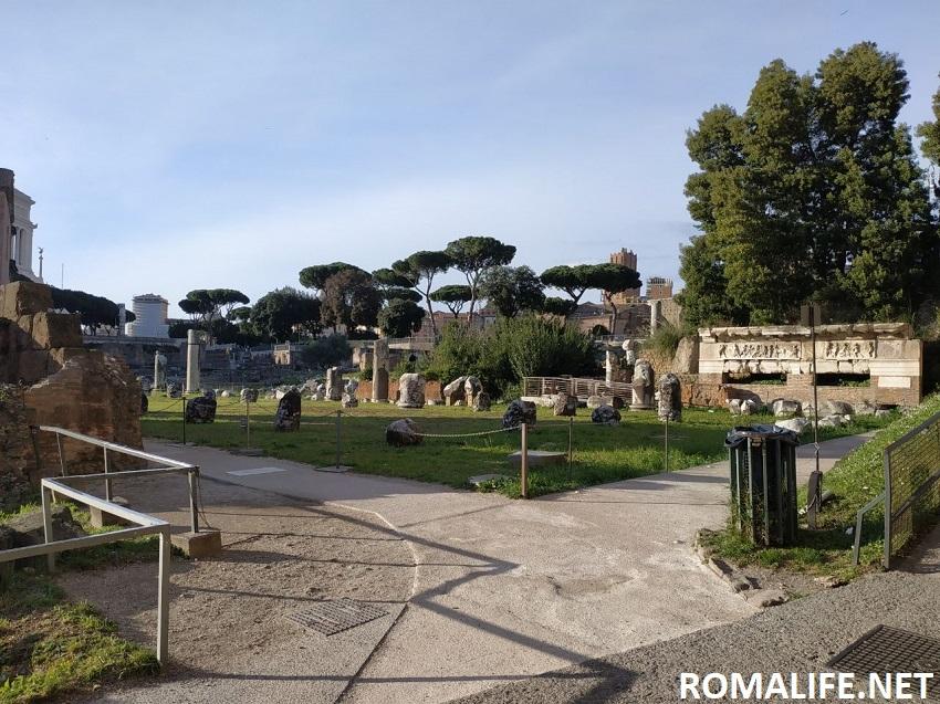 Римский форум в марте