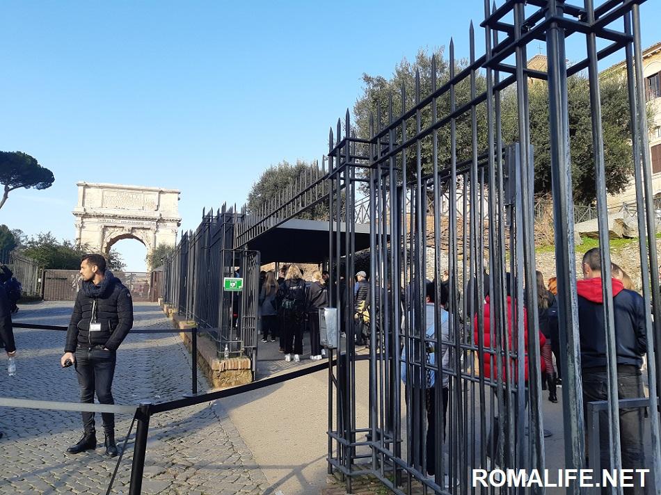 Вход в Римский форум