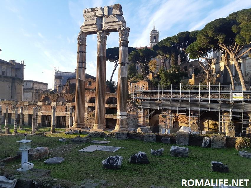 Храм Венеры на Форуме Цезаря
