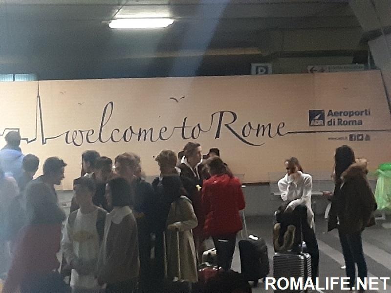 Аэропорт имени Леонардо да Винчи