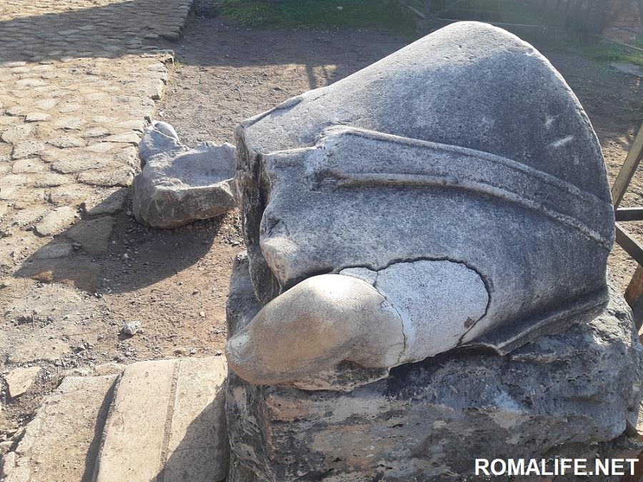 Античные руины на Палатинском холме