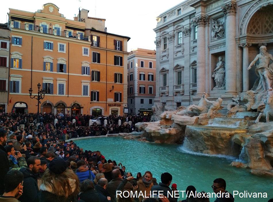 Рим за 2 дня - фонтан Треви