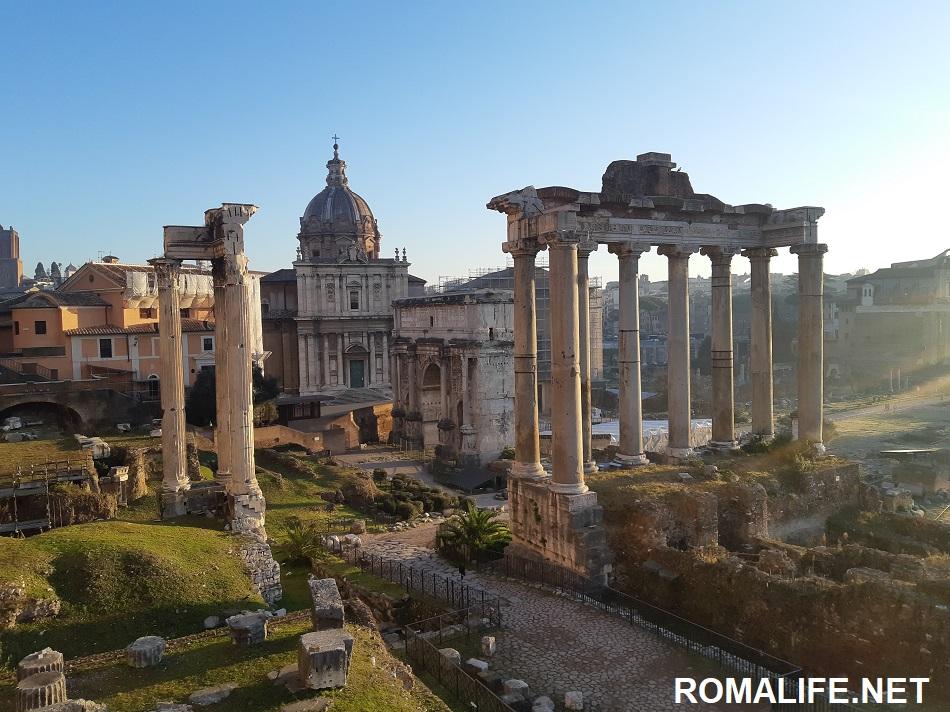 Форум - достопримечательности Рима за 2 дня