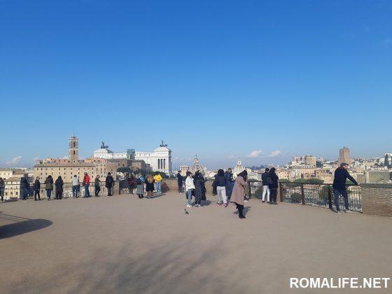 Вид на Рим с Палатинского холма