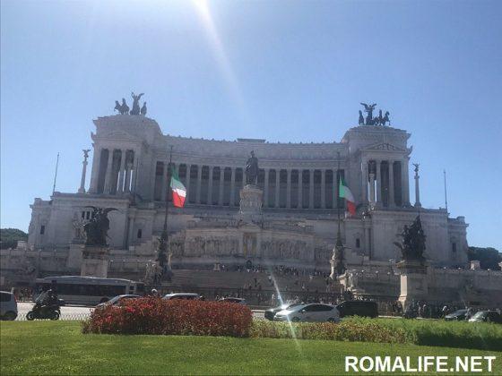 Витториано - Рим в апреле