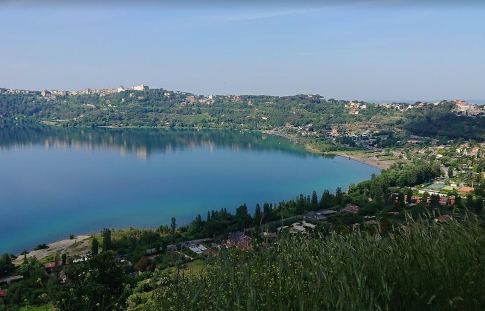 Озеро Альбано - пляжи Рима