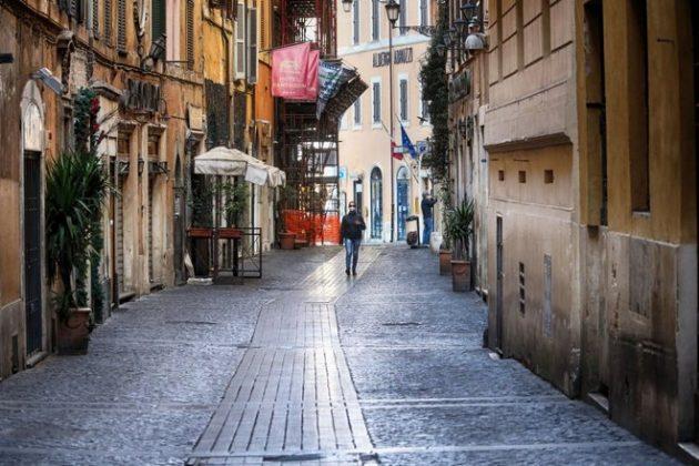Рим коронавирус