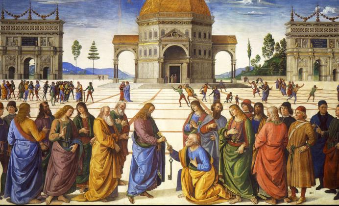 Вручение ключей от рая Петру