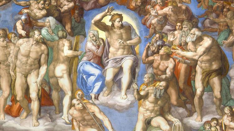 Страшный суд Микеланджело