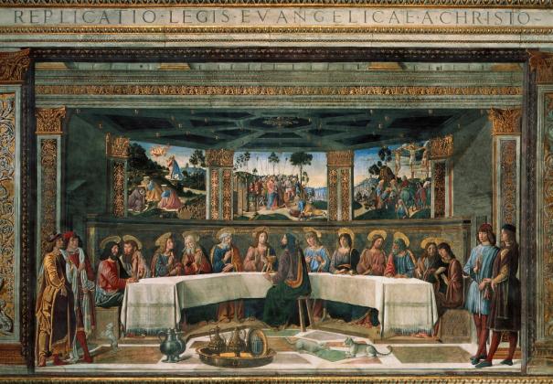 Тайная вечеря - фрески Сикстинской капеллы