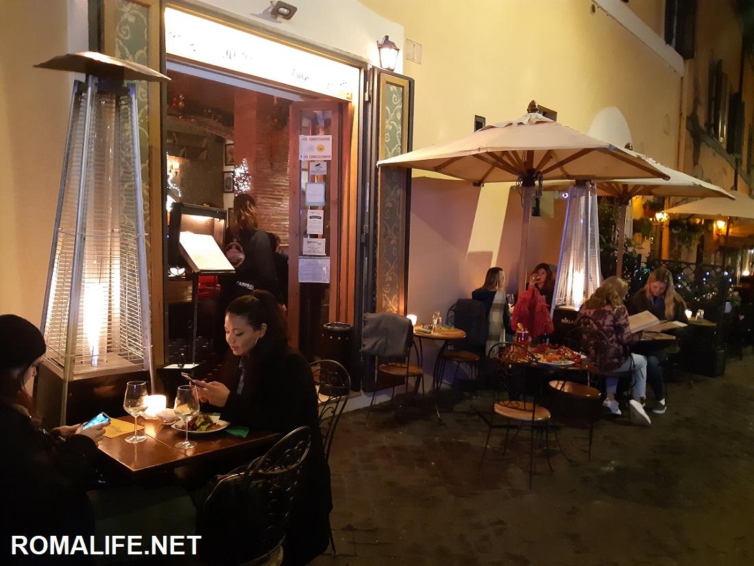 Рестораны Трастевере
