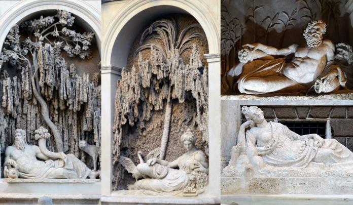 Четыре фонтана Рим